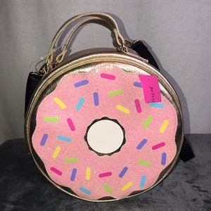Betsey Johnson Rare Donut Lunch Bag NWT ✨